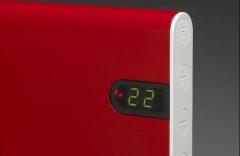 Ką tai reiškia, kai elektrinio radiatoriaus ekrane pastoviai mirksi raidės rE?