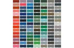 Elektrinių radiatorių spalvų kodai