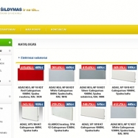 Atidaryta nauja elektroninė parduotuvė www.e-sildymas.lt, kurioje prekiaujama UAB ADAX produkcija