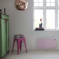 Naujos prekės: Šviesiai mėlynos ir rožinės spalvų ADAX NEO radiatoriai