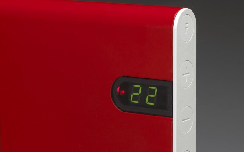 Elektrinis radiatorius ADAX NEO NP06 KDT Red