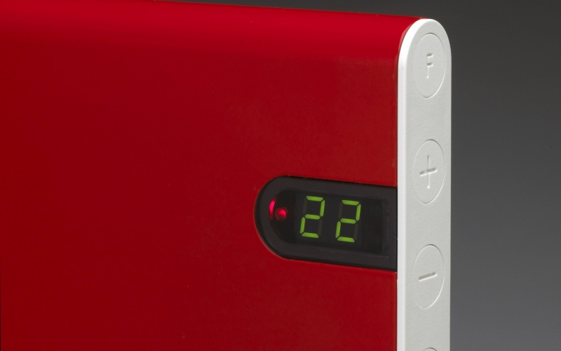 Elektrinis radiatorius ADAX NEO NP08 KDT Red