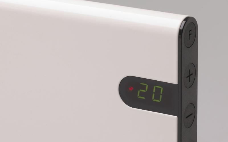 Elektrinis radiatorius GLAMOX heating H30 H04 KDT White