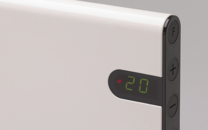 Elektrinis radiatorius GLAMOX heating H30 H10 KDT White