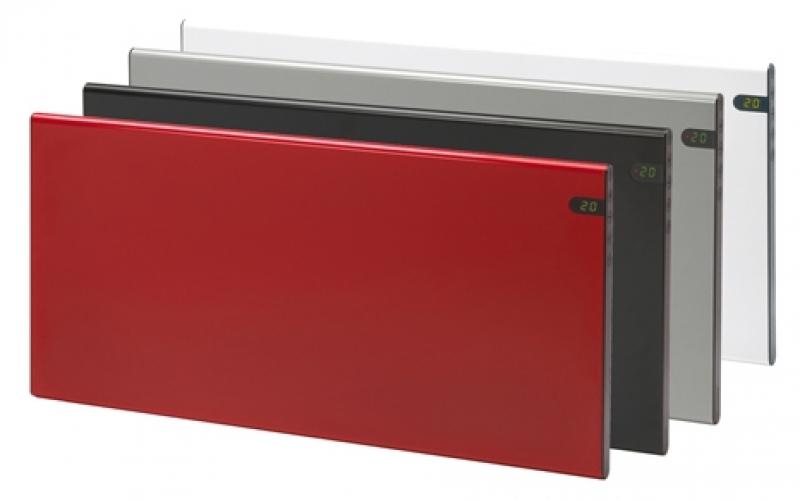 Elektrinis radiatorius GLAMOX heating H30 H14 KDT Silver