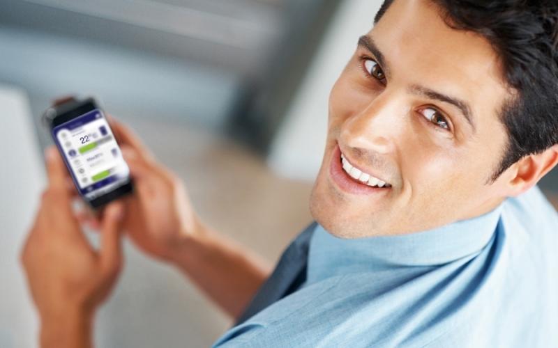 GSM valdymo sistema ADAX SET