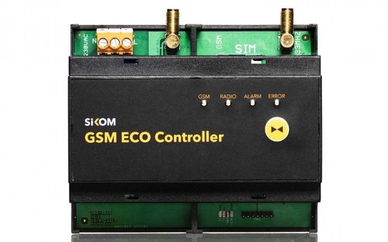 Sikom GSM Eco Controller valdymo blokas