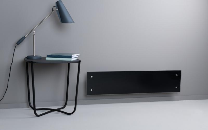 Elektrinis radiatorius GLAMOX heating H60 L08 WT Black