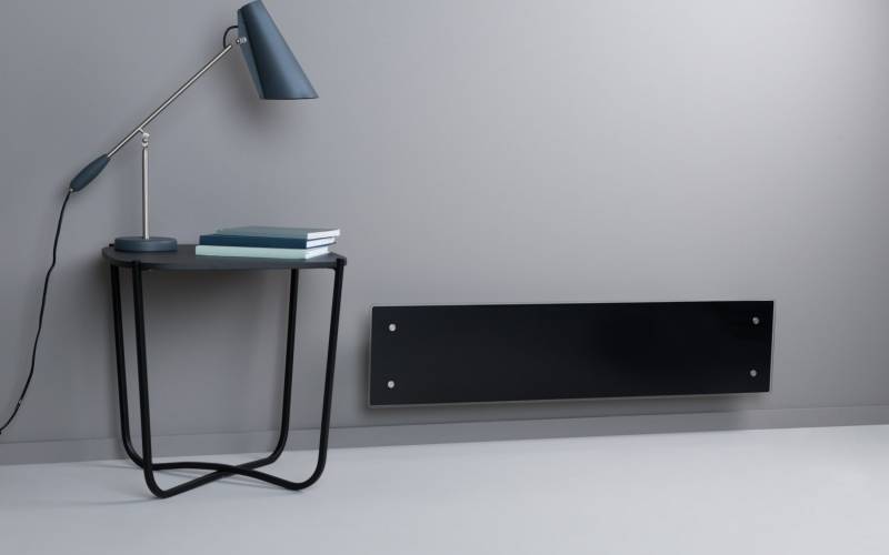 Elektrinis radiatorius GLAMOX heating H60 L10 WT Black