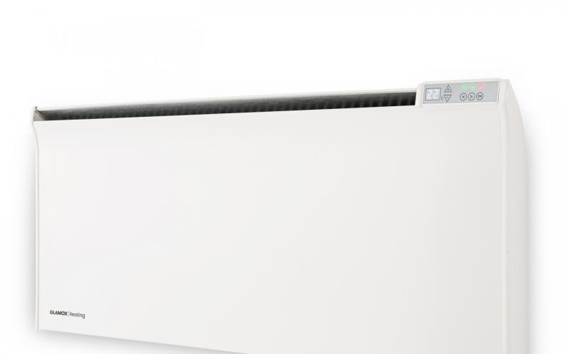 Atsparus aptaškymui programuojamas skaitmeninis termostatas GLAMOX heating DTV2