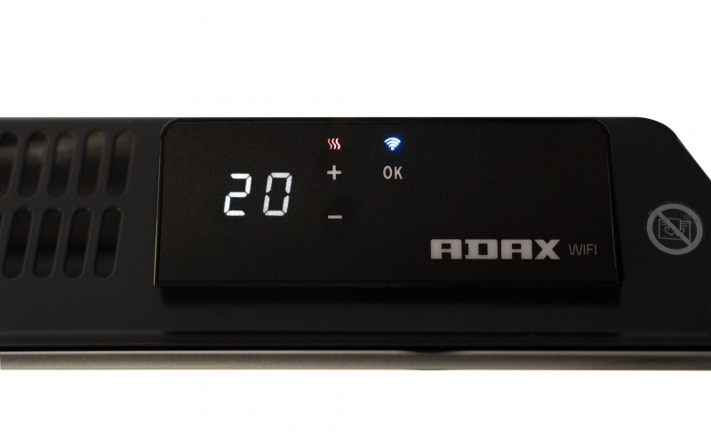 Elektrinis radiatorius ADAX CLEA L06 KWT Black