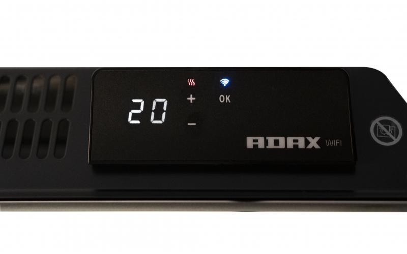 Elektrinis radiatorius ADAX CLEA L10 KWT Black
