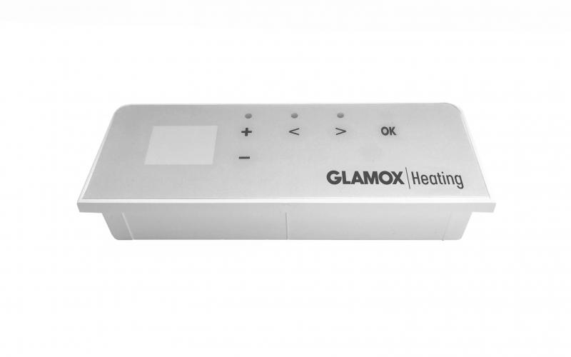 Programuojamas skaitmeninis termostatas GLAMOX heating H40/H60 DT White