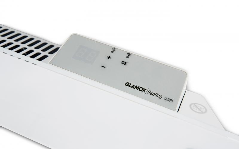 Programuojamas WiFi termostatas GLAMOX heating H40/H60 WT White