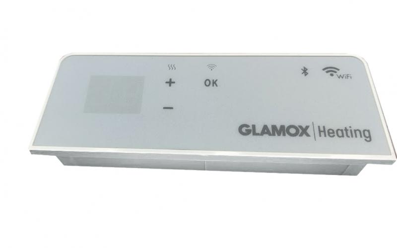 Programuojamas WiFi termostatas GLAMOX heating H40/H60 WT+BLE White