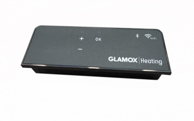 Programuojamas WiFi termostatas GLAMOX heating H40/H60 WT+BLE Black
