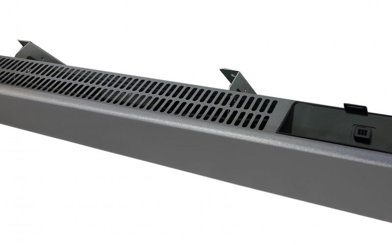 Elektrinis radiatorius H40 L12 Sparkling Grey